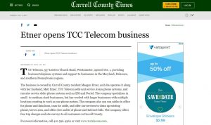 TCC Telecom is in the news